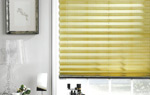 Pleated blind in Grimsby home