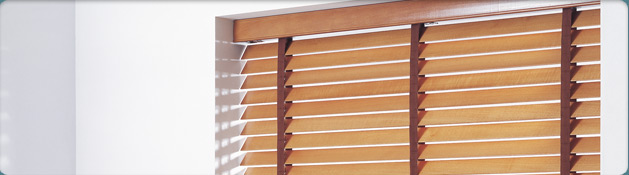 Wooden Blinds in Grimsby bedroom